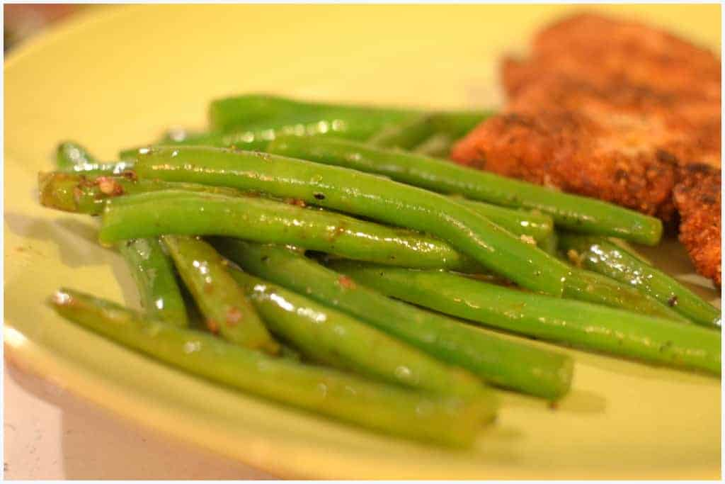 Garlicky Green Beans - PLACE OF MY TASTE