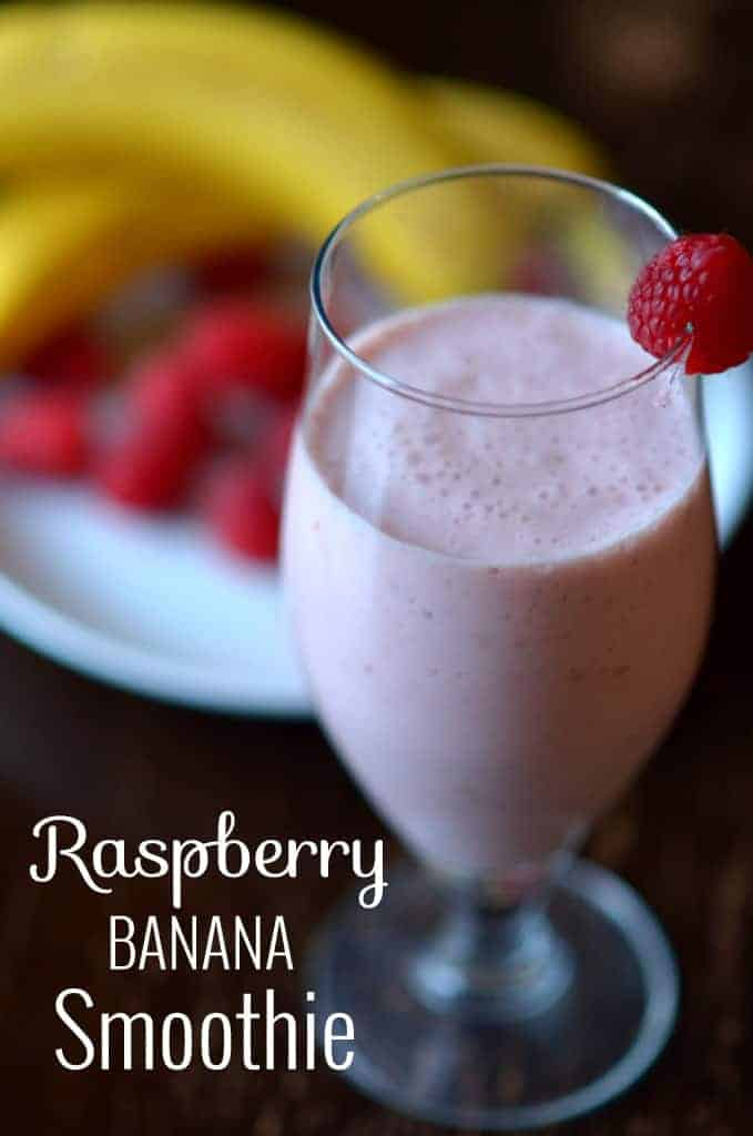 Raspberry-Banana Smoothie - PLACE OF MY TASTE