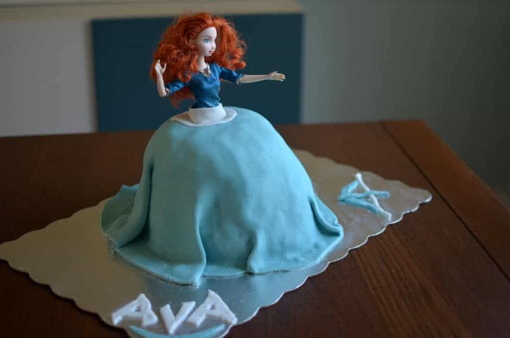 DIY: How to make a doll cake - PLACE OF MY TASTE