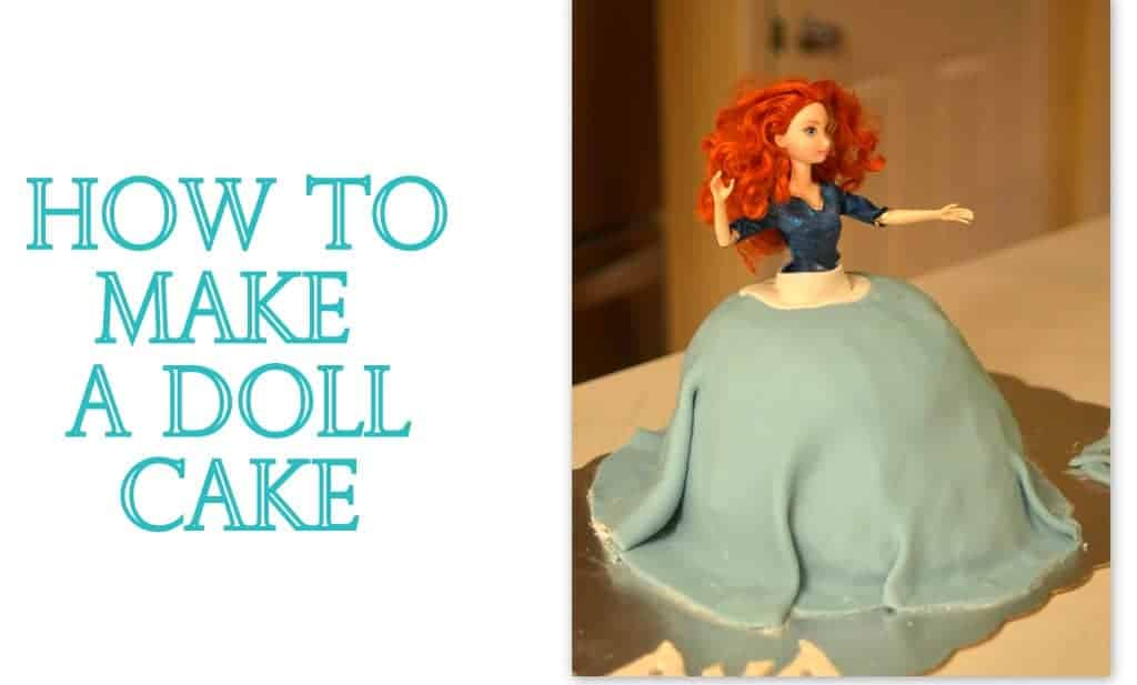 DIY: How to make a doll cake