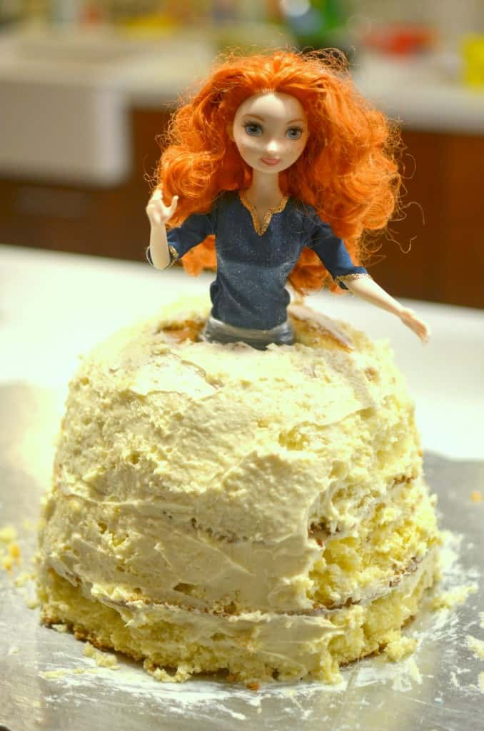 Easy Doll Cake Images : HOW TO MAKE A DOLL CAKE THE EASY WAY! Make that little ...