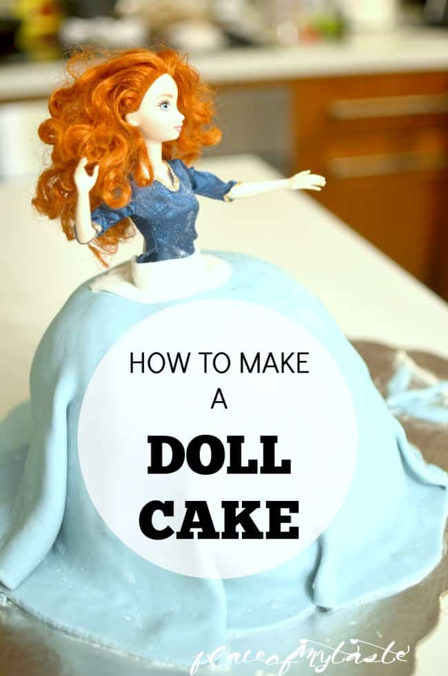 HOW TO MAKE A DOLL CAKE THE EASY WAY! Make that little