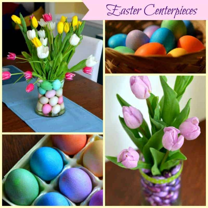 easter centerpieces placeofmytastecom - Easter Centerpieces