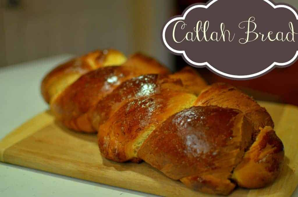 Callah Bread {Bread machine}