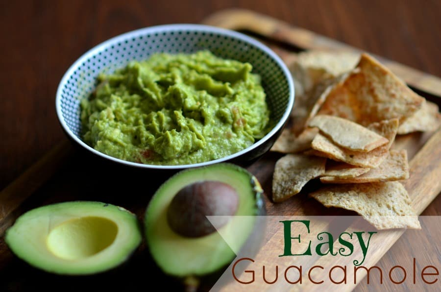 Easy Guacamole { Appetizer Recipe }