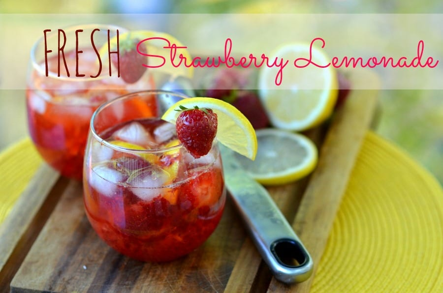 fRESH+sTRAWBERRY+LEMONADE