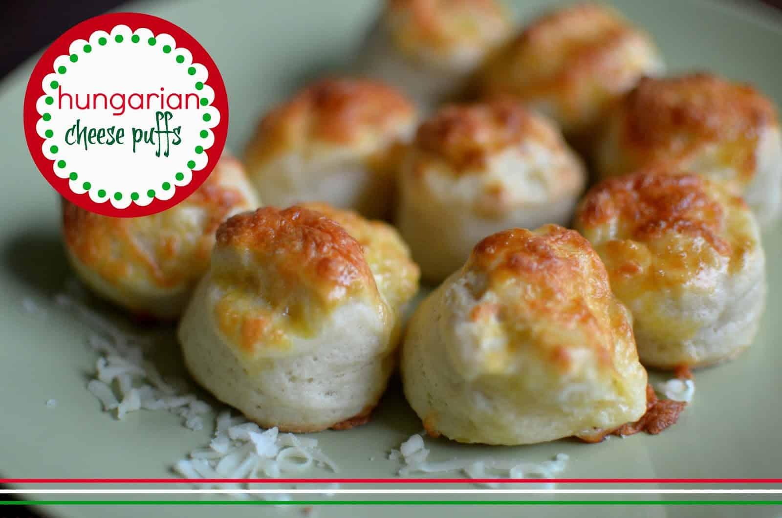 Hungarian Cheese puffs