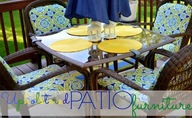 Upholstered Patio Furniture