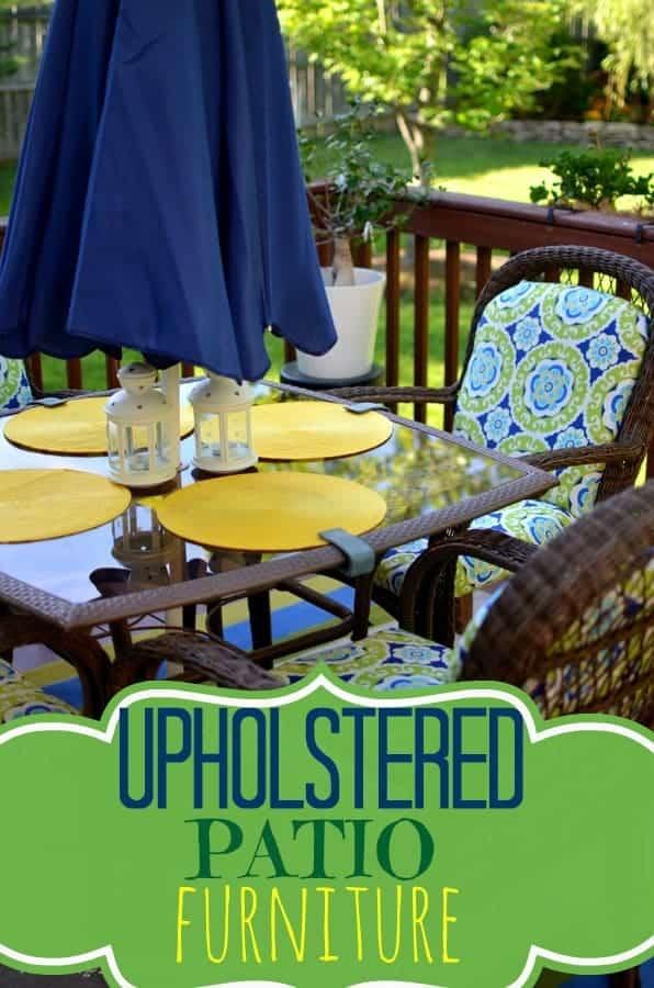 yellow patio furniture. Upholstered Patio Furniture Yellow