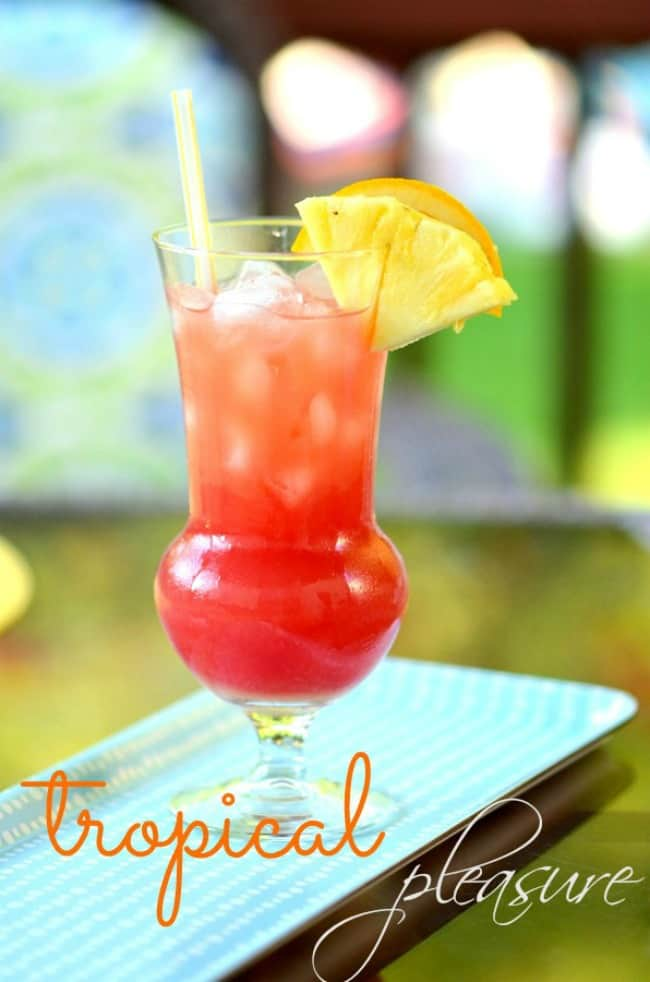 SUMMER COCKTAIL{ Tropical Pleasure }
