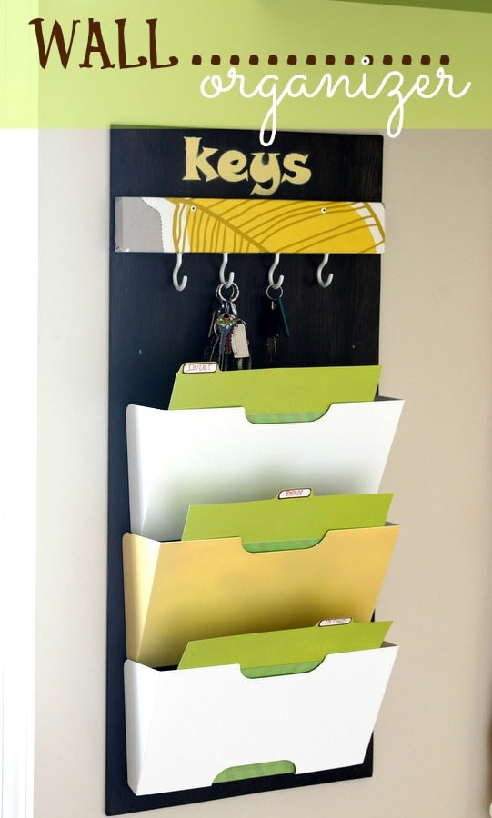 WALL ORGANIZER { Entry Way }