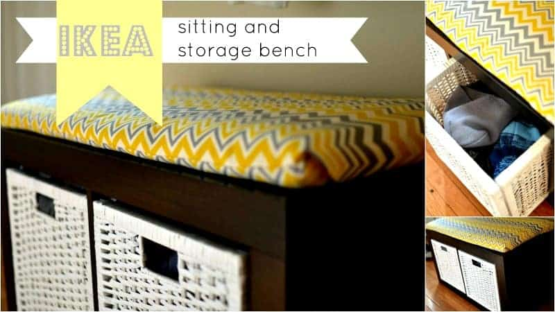 Ikea Sitting Bench @placeofmytaste.com