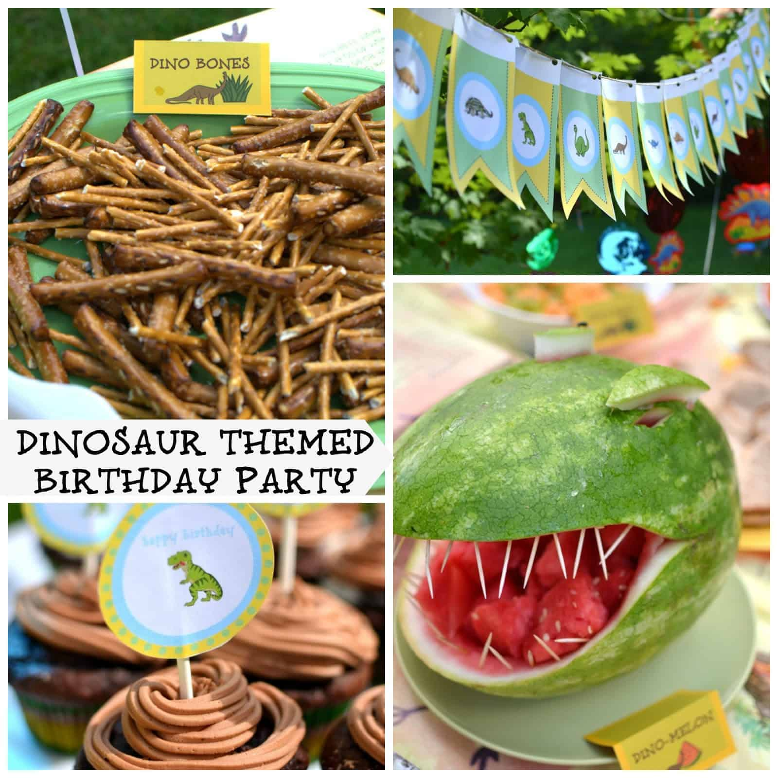 Party With Dinosaurs Dinosaur Themed Birthday