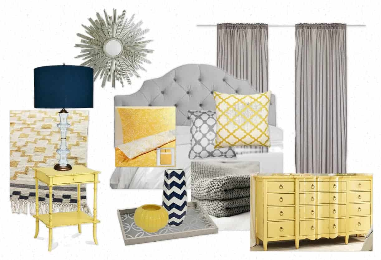 BEDROOM MOOD BOARD PLACE OF MY TASTE
