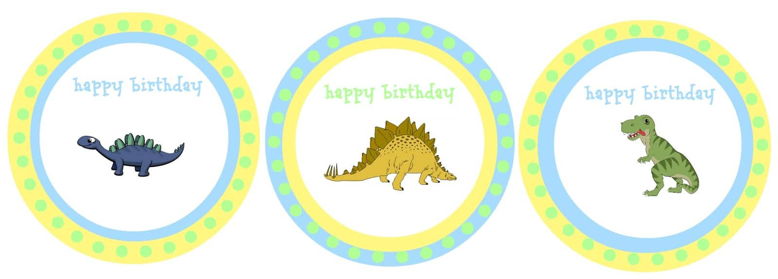 Party with dinosaurs - Dinosaur themed birthday party