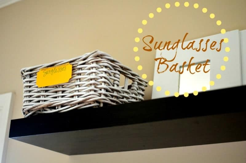 sunglasses+basket