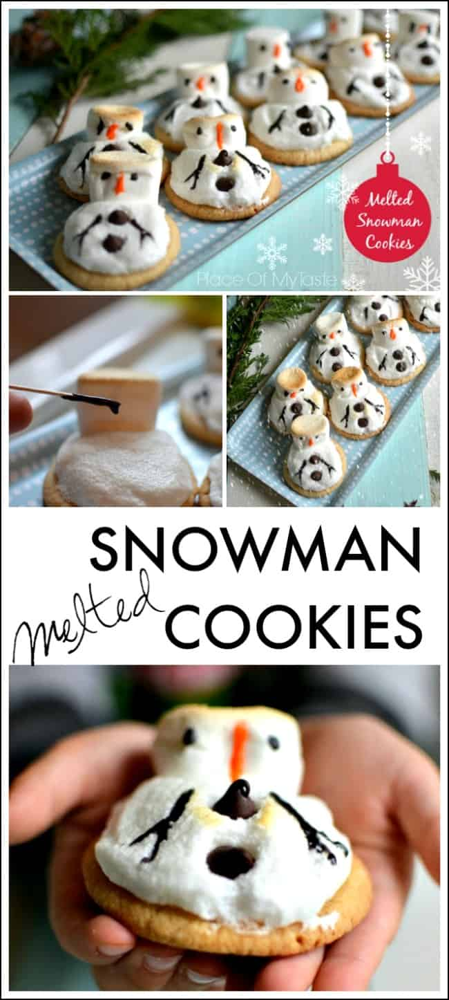 Such cute little snowman cookies!!