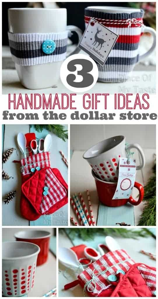 3 handmade gift ideas from the dollar store