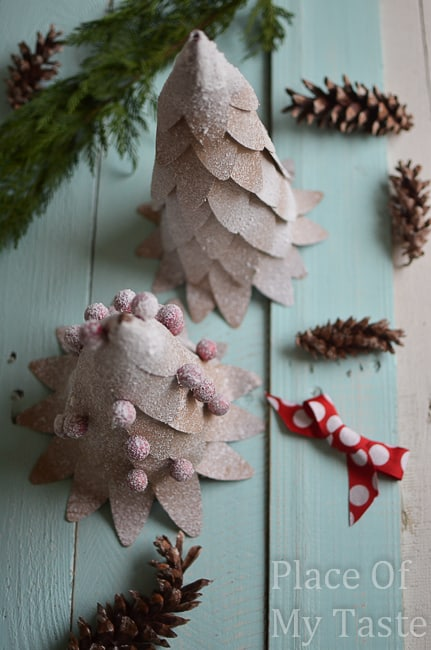 DIY paper mini trees @placeofmytaste.com (14 of 20)