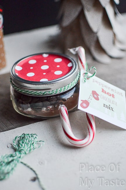 Peppermint+HOt+Chocolate+in+mason+jar