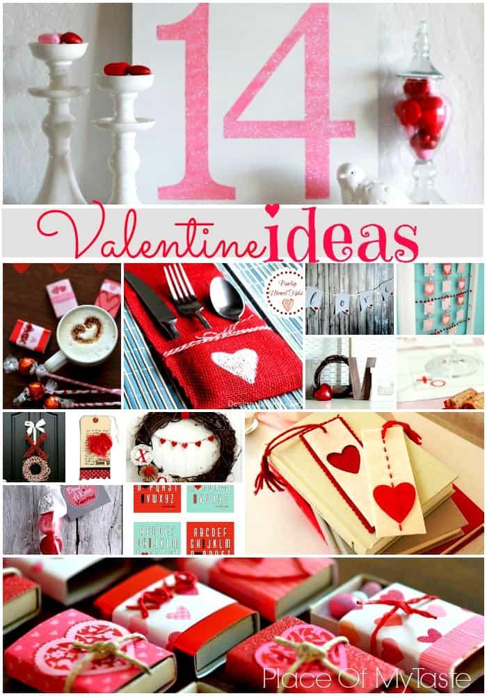 14 Valentine Ideas @placeofmytaste.com