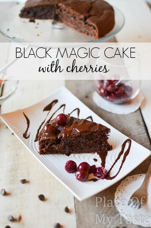 BLACK MAGIC CAKE with cherries(4)
