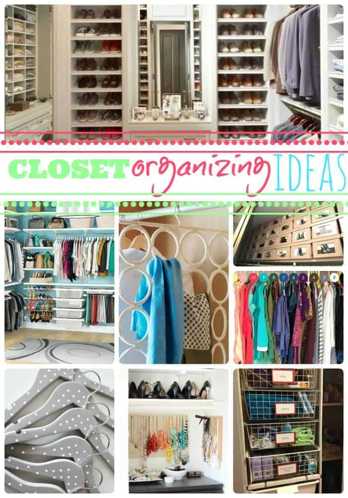 Closet organizing ideas so that you can find the one Diy wardrobe organising ideas