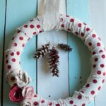 Polka Dot Christmas Wreath