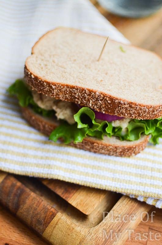 Tuna salad sandwich @placeofmytaste.com-3