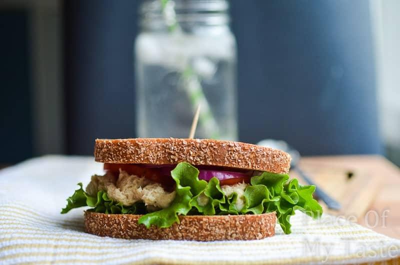 Tuna salad sandwich @placeofmytaste.com-4