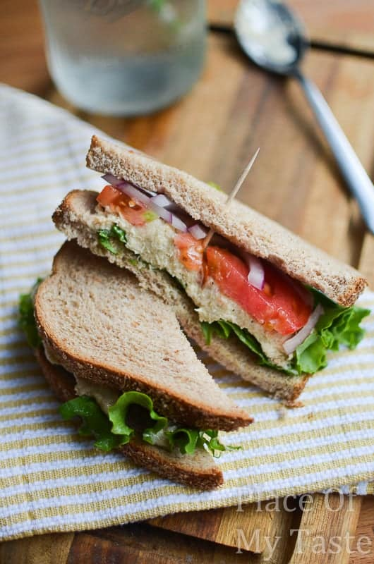 Tuna salad sandwich @placeofmytaste.com-5