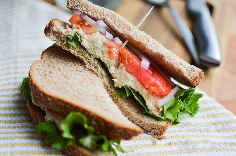 Tuna salad sandwich @placeofmytaste.com-6