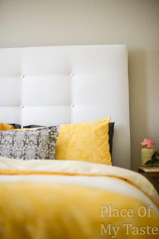 upholstered headboard-ikea hacks  malm hack@placeofmytaste.com-5491