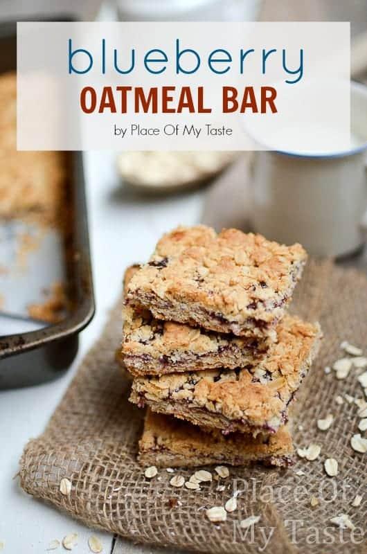 Blueberry Oatmeal Bar (1)