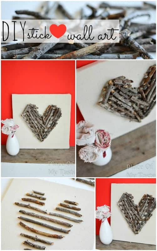DIY stick heart wall art (1)