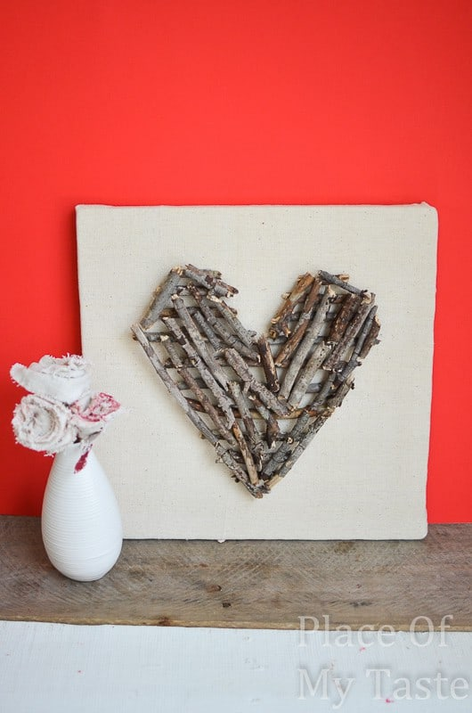 DIY stick heart wall art (26)