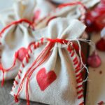 Stitched Valentine's Treat Bag
