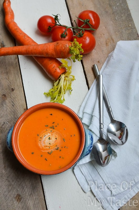 Homemade Tomato Soup @ placeofmytaste.com-6-2
