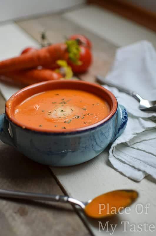 Homemade Cream Of Tomato Soup @ placeofmytaste.com-8-2