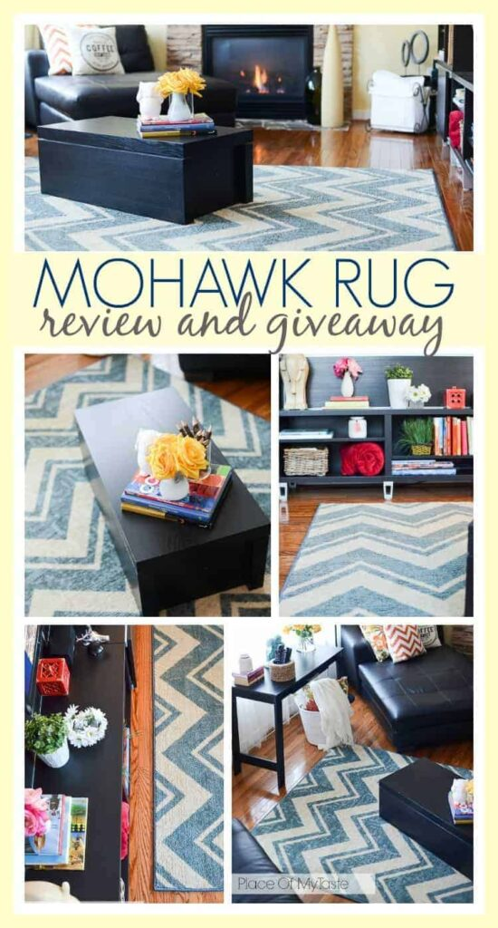 Mohawk Rug review and Giveaway.