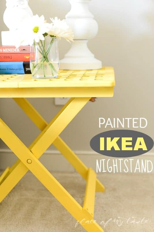 Painted IKEA nightstand  @placeofmytaste.com-1-5