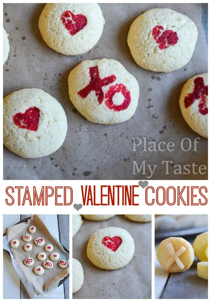 Stapmed Cookies by Place Of My Taste
