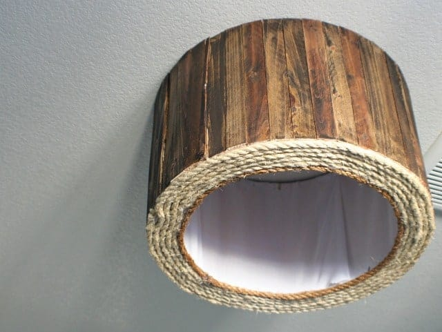 diy-wood-shim-drum-shade-ceiling-mount