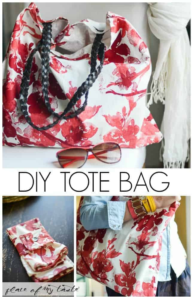 DIY TOTE BAG | Place Of My Taste