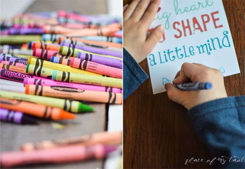 Get Creative with Crayola #ColorfulCreations #shop@placeofmytaste.com