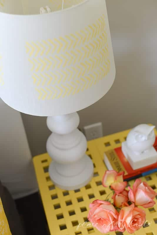 Herringbone Lamp makeover @placeofmytaste.com-10