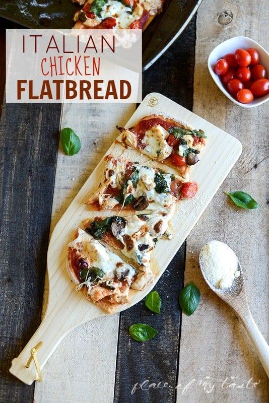 Italian Flatbread @placeofmytaste.com-