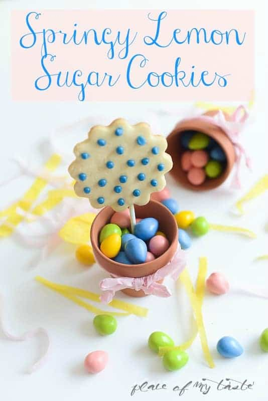 Springy Lemon Sugar Cookies - - Place Of My Taste