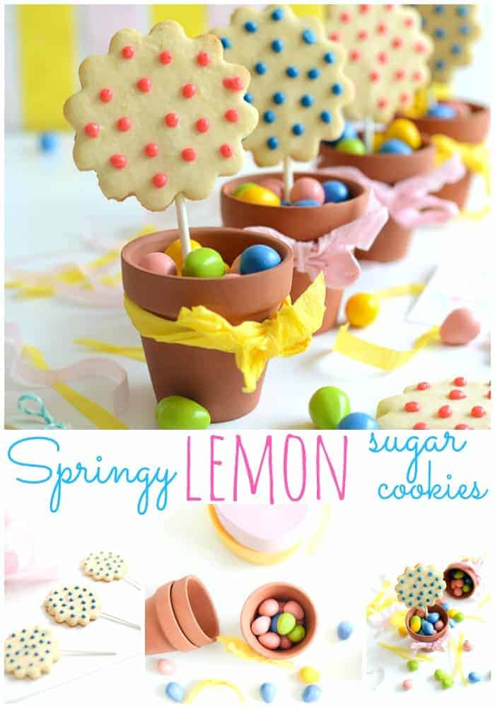 Lemon Sugar Cookie Recipe and Free Printables. So cute and delicious! placeofmytaste.com