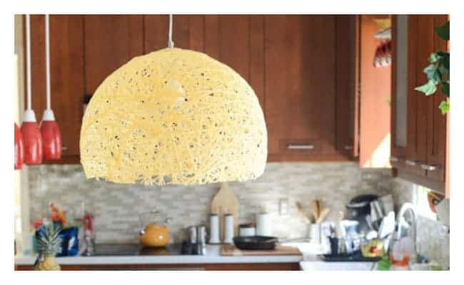 DIY Pendant light with super bright led bulb